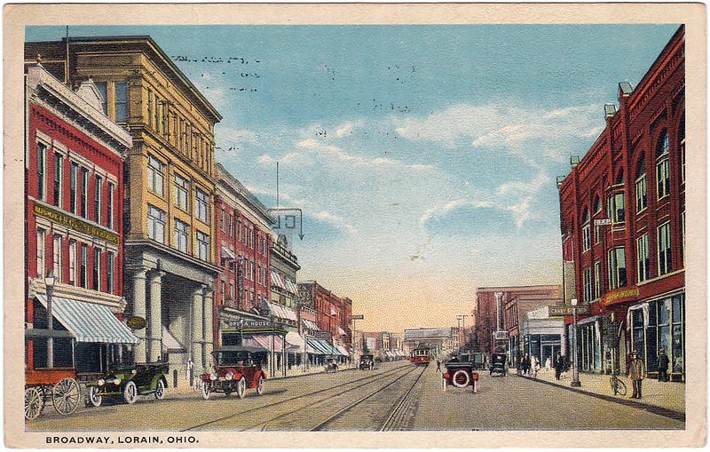 Broadway, Lorain, Ohio (1917)