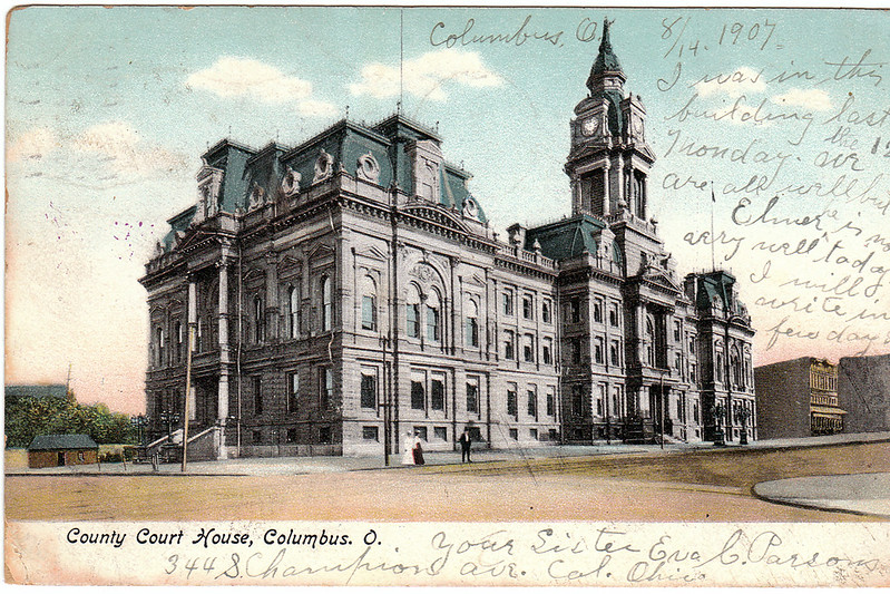 County Court House, Columbus, Ohio (1907)