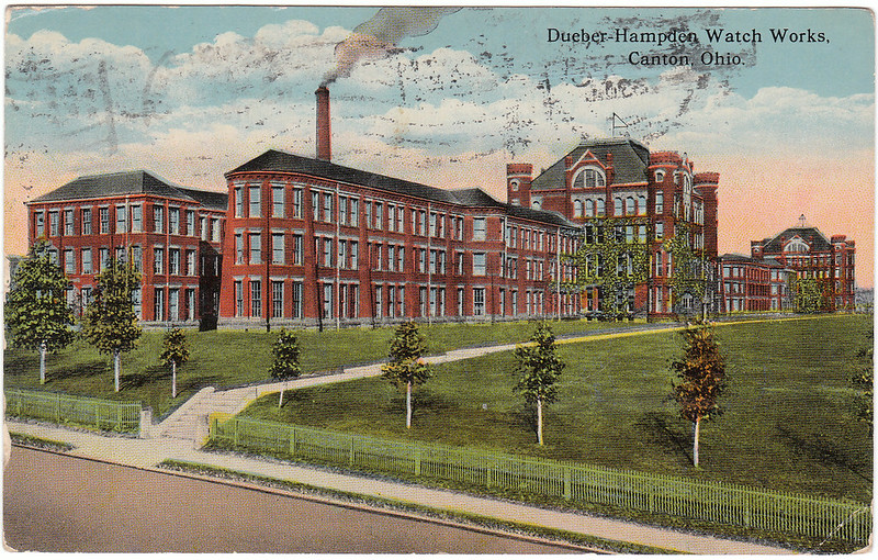 Dueber-Hampden Watch Works, Canton, Ohio. (1915)