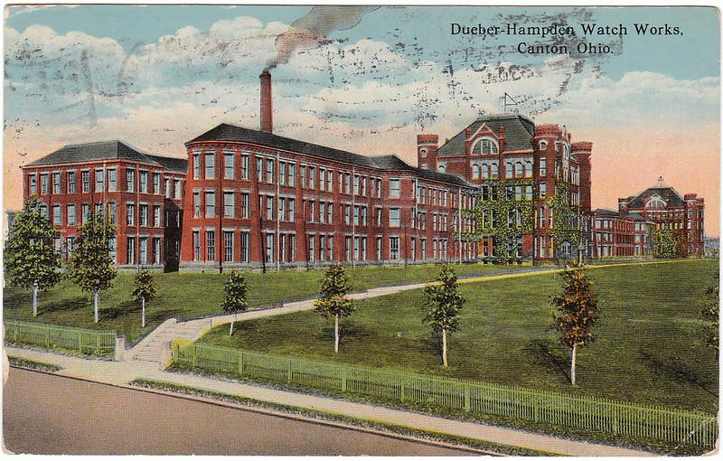 Dueber-Hampden Watch Works, Canton, Ohio. (1915)