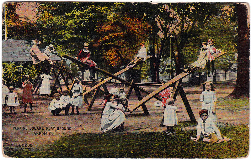 Perkins Square Play Ground, Akron, Ohio (1914)