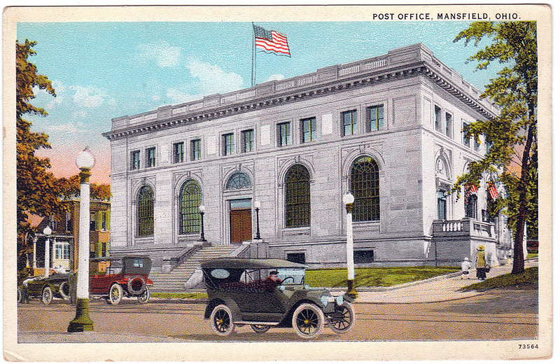 Post Office, Mansfield, Ohio (Date Unknown)