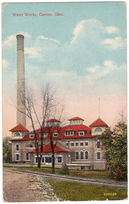 Water Works, Canton, Ohio (1916)