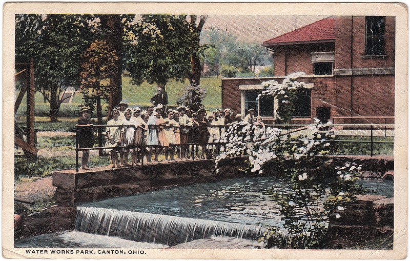 Water Works Park, Canton, Ohio (1918)