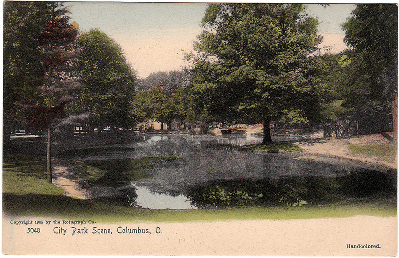 City Park Scene, Columbus, Ohio (1905)