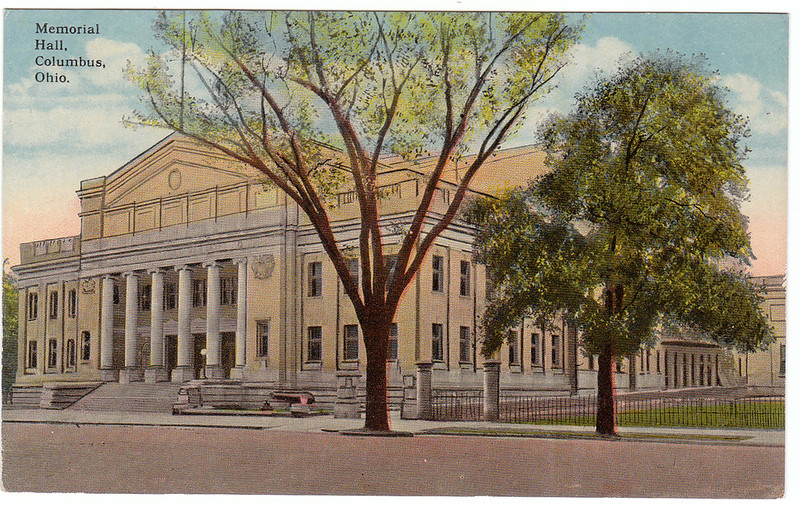 Memorial Hall, Columbus, Ohio (Date Unknown)