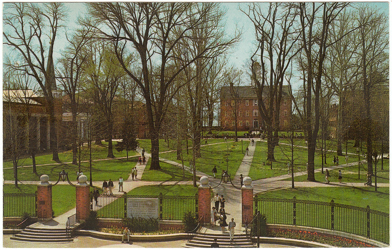 College Green, Ohio University, Athens, Ohio (1970s)