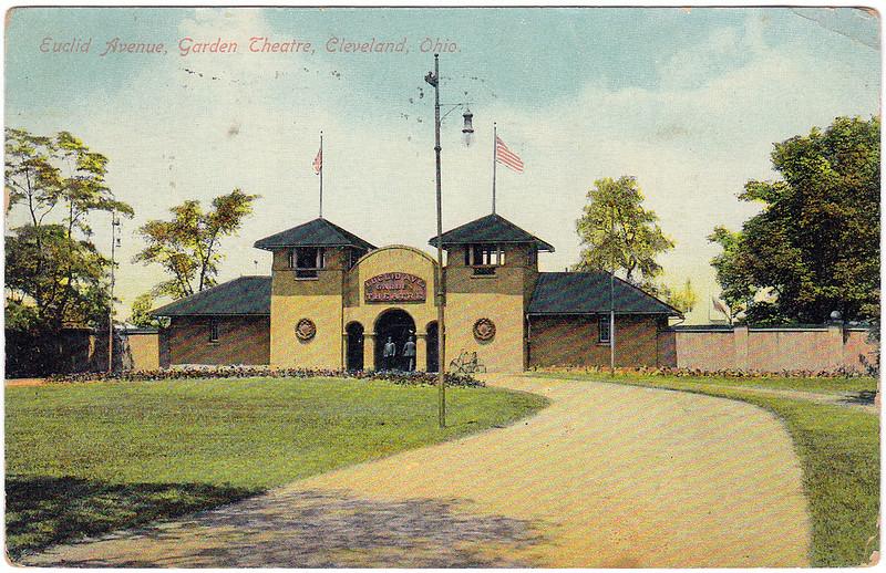 Euclid Avenue, Garden Theatre, Cleveland, Ohio (1910)