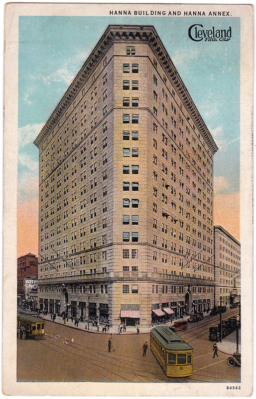 Hanna Building and Hanna Annex, Cleveland, Ohio (1921)