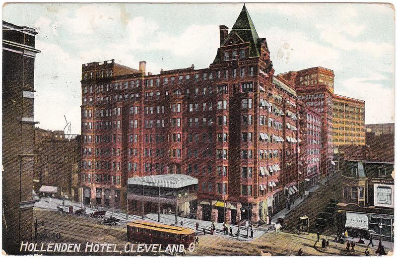 Hollenden Hotel, Cleveland, Ohio (1909)