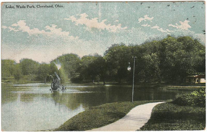 Lake, Wade Park, Cleveland, Ohio (1914)