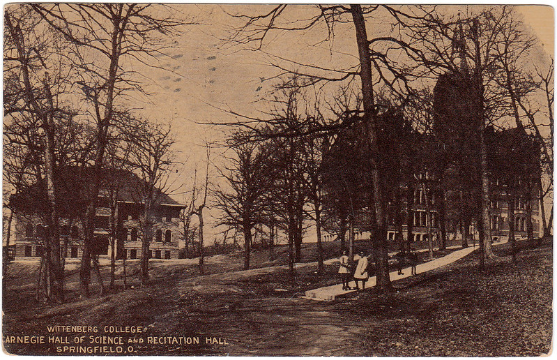 Wittenberg College, Carnegie Hall of Science and Recitation Hall, Springfield, Ohio (1911)