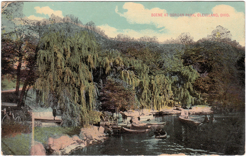Scene at Gordan Park, Cleveland, Ohio (1914)