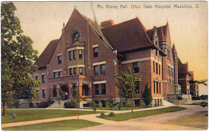 McKinley Hall, Ohio State Hospital, Massillon, Ohio (1915)