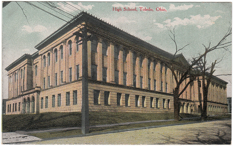 High School, Toledo, Ohio (Date Unknown)