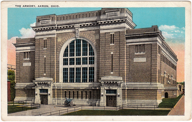 The Armory, Akron, Ohio (Date Unknown)