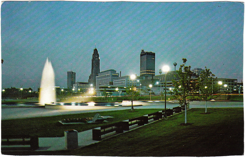 Bicentennial Park at Night (Date Unknown)