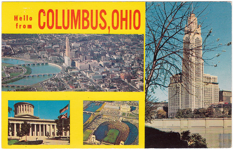 Hello from Columbus, Ohio (Date Unknown)