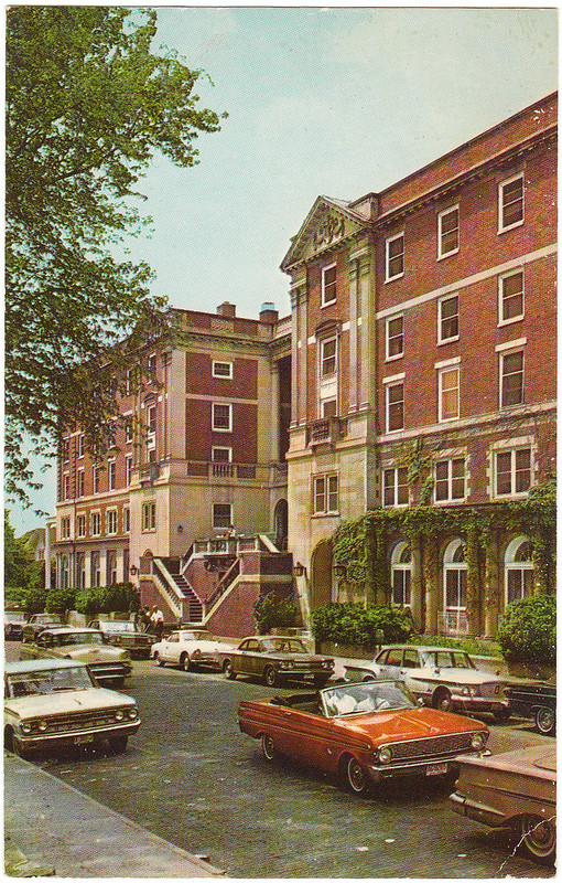Lindley Hall, Ohio University, Athens, Ohio (Date Unknown)