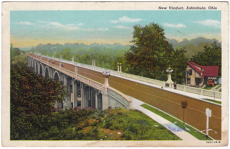 New Viaduct, Ashtabula, Ohio (1947)