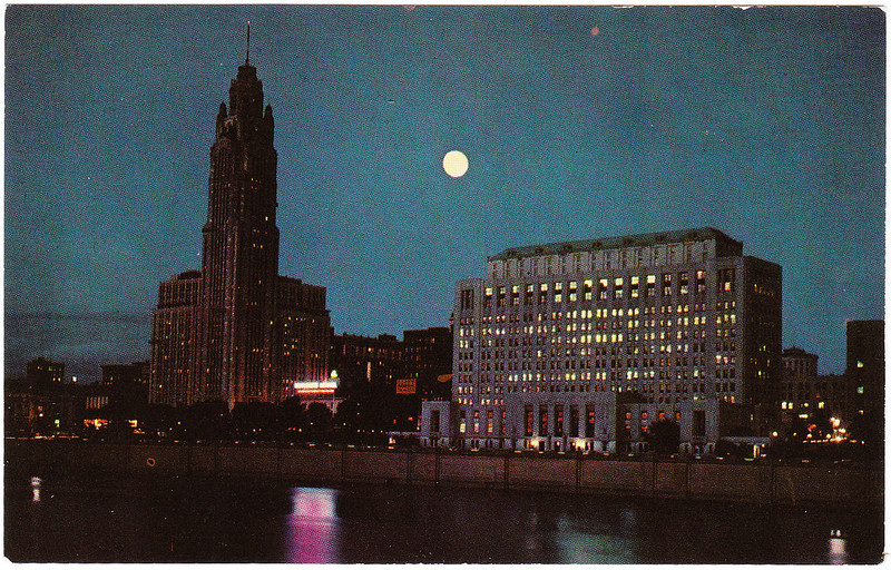Ohio State Office Building and Le Veque-Lincoln Tower, Columbus, Ohio (Date Unknown)