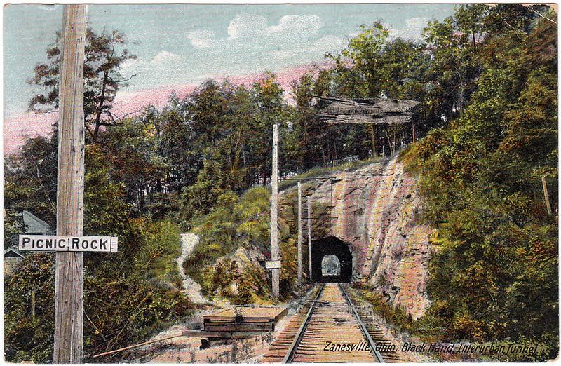 Black Hand Interurban Tunnel, Zanesville, Ohio (1907)