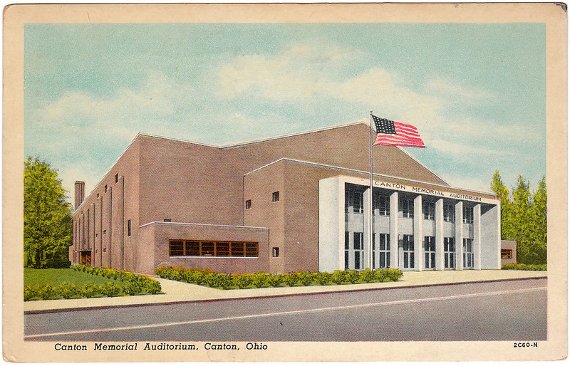Canton Memorial Auditorium, Canton, Ohio (1957)
