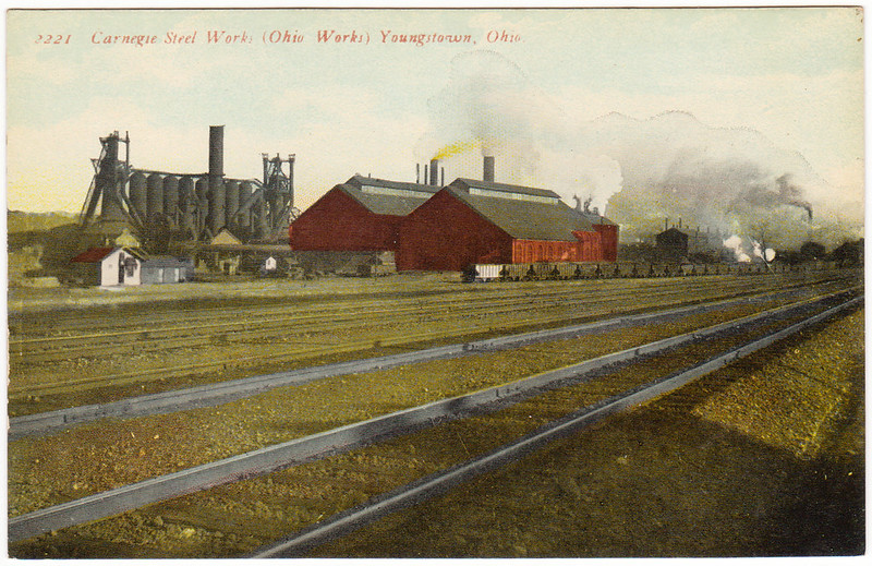 Carnegie Steel Works (Ohio Works), Youngstown, Ohio (Date Unknown)