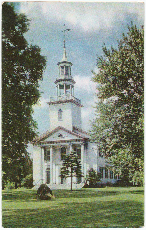Congregational Church, Tallmadge, Ohio (Date Unknown)