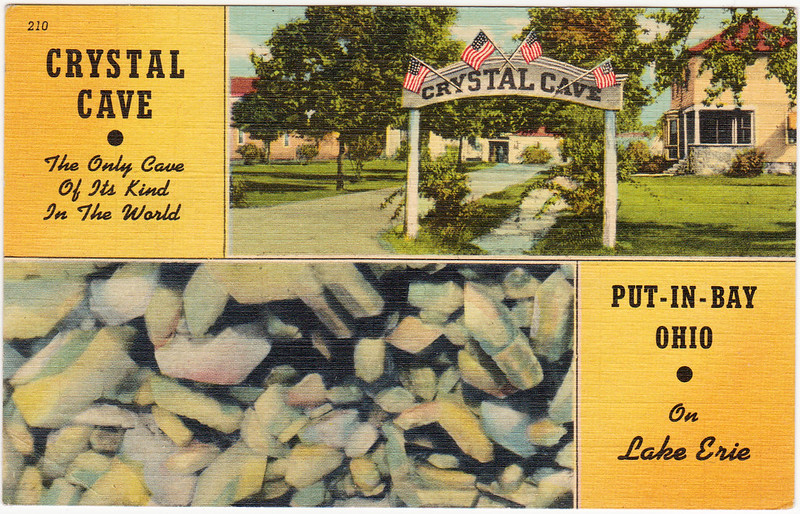 Crystal Cave, Put-In-Bay, Ohio (Date Unknown)
