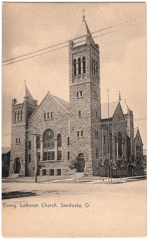 Evangelical Lutheran Church, Sandusky, Ohio (Date Unknown)