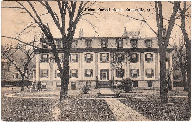 Helen Purcell Home, Zanesville, Ohio (1907)