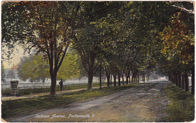 Jackson Avenue, Portsmouth, Ohio (1908)