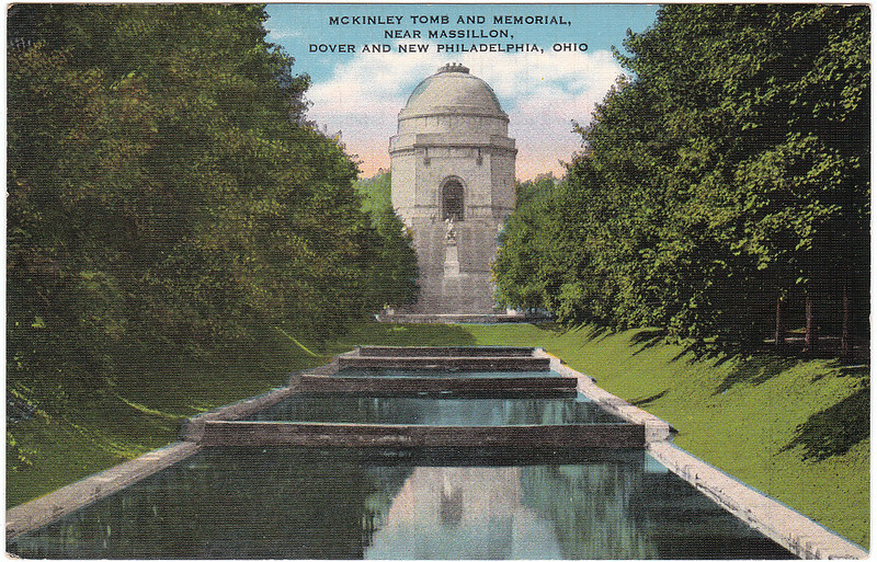 McKinley Tomb and Memorial, Near Massillon, Dover and New Philadelphia, Ohio (Date Unknown)