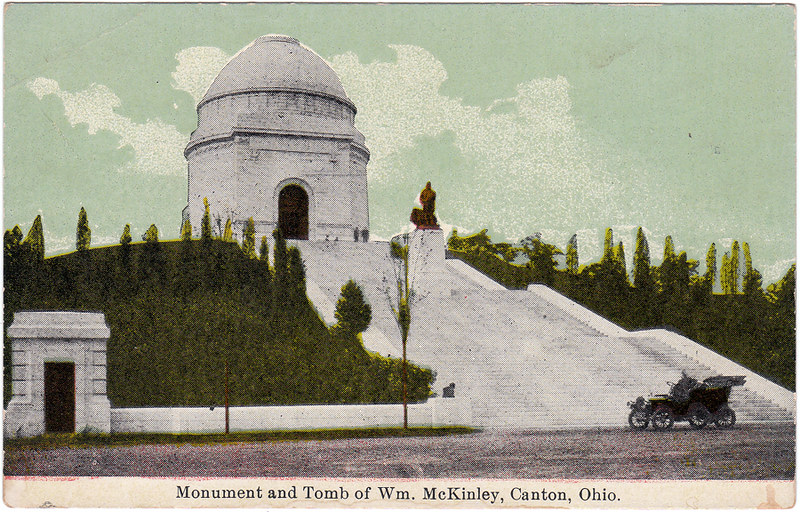 Monument and Tomb of Wm. McKinley, Canton, Ohio (Date Unknown)