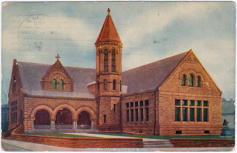 Public Library, Springfield, Ohio (1912)