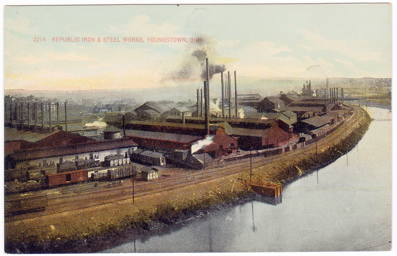 Republic Iron and Steel Works, Youngstown, Ohio (Date Unknown)