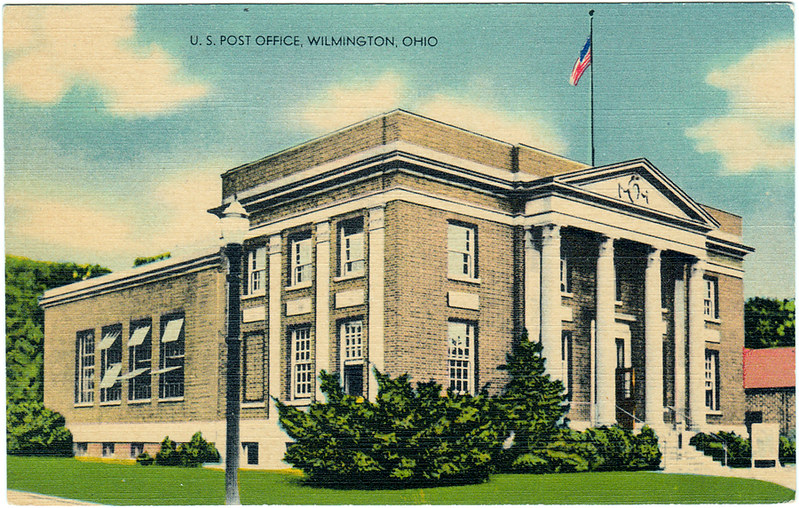 U.S. Post Office, Wilmington, Ohio (Date Unknown)