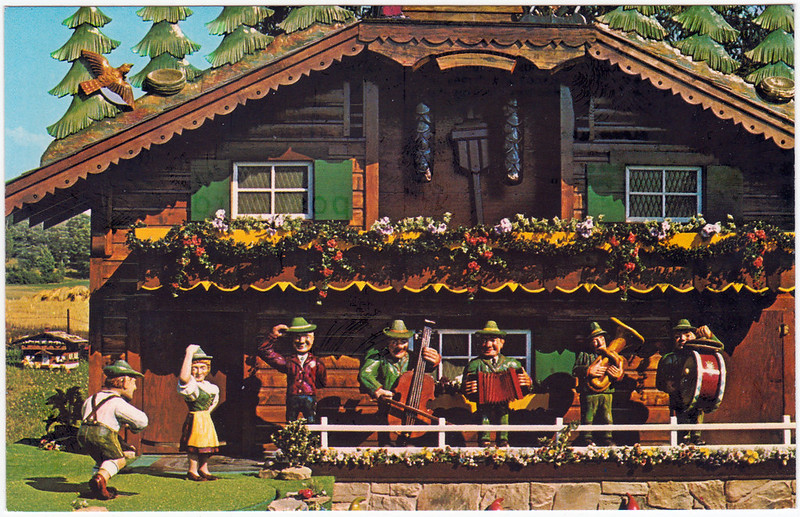 The World's Largest Cuckoo Clock, Wilmot, Ohio (Date Unknown)