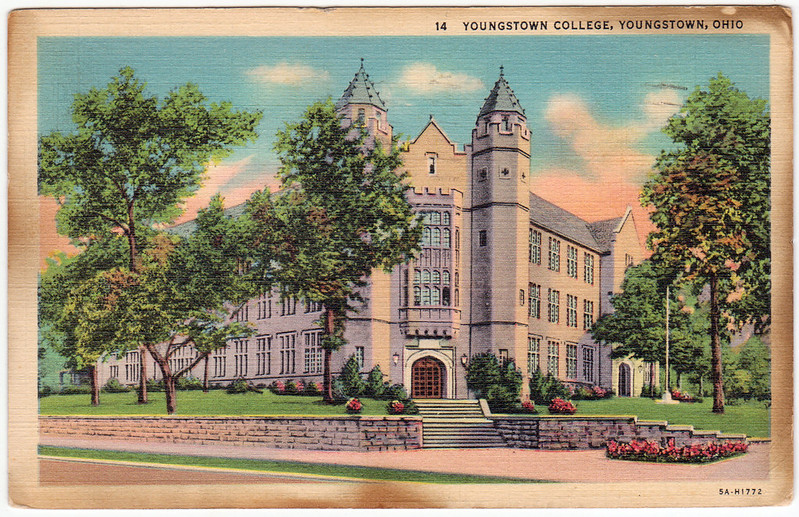 Youngstown College, Youngstown, Ohio (1952)