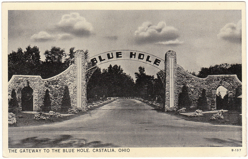 The Gateway to the Blue Hole, Castalia, Ohio (1936)