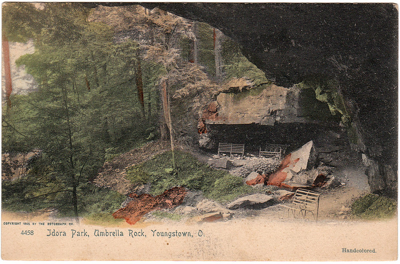 Idora Park, Umbrella Rock, Youngstown, Ohio (1905)