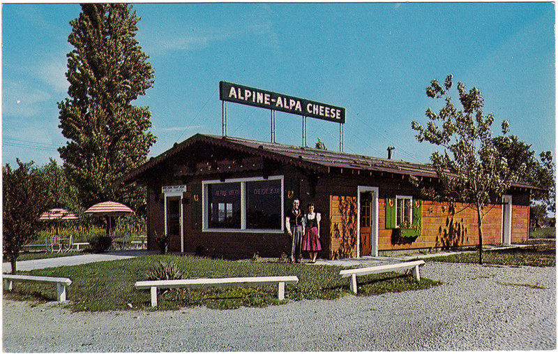 Alpine-Alpa Cheese Chalet Stores, Hamilton, Ohio (Date Unknown)