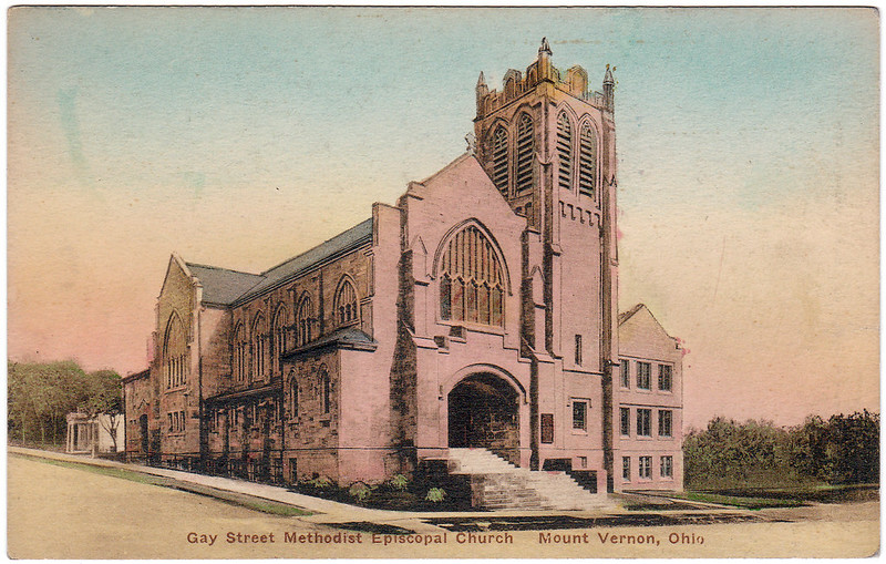 Gay Street Methodist Episcopal Church, Mount Vernon, Ohio (Date Unknown)