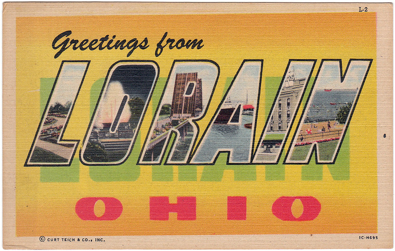 Greetings from Lorain, Ohio (Date Unknown)