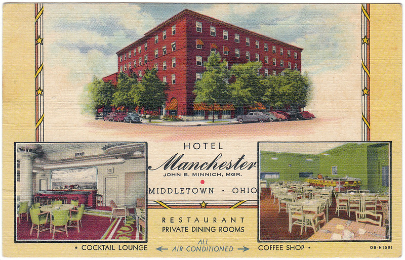 Hotel Manchester, Middletown, Ohio (Date Unknown)