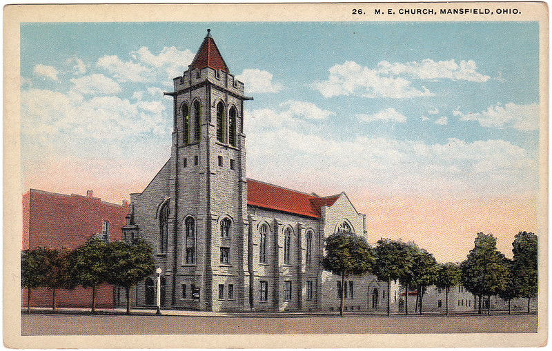 M. E. Church, Mansfield, Ohio (Date Unknown)