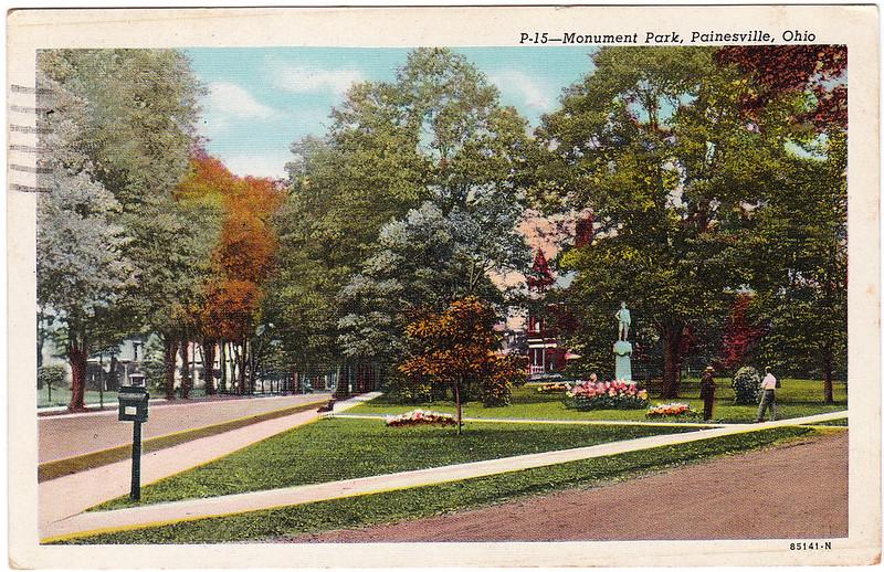 Monument Park, Painesville, Ohio (1949)