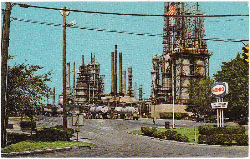 Sohio Refinery, Lima, Ohio (Date Unknown)