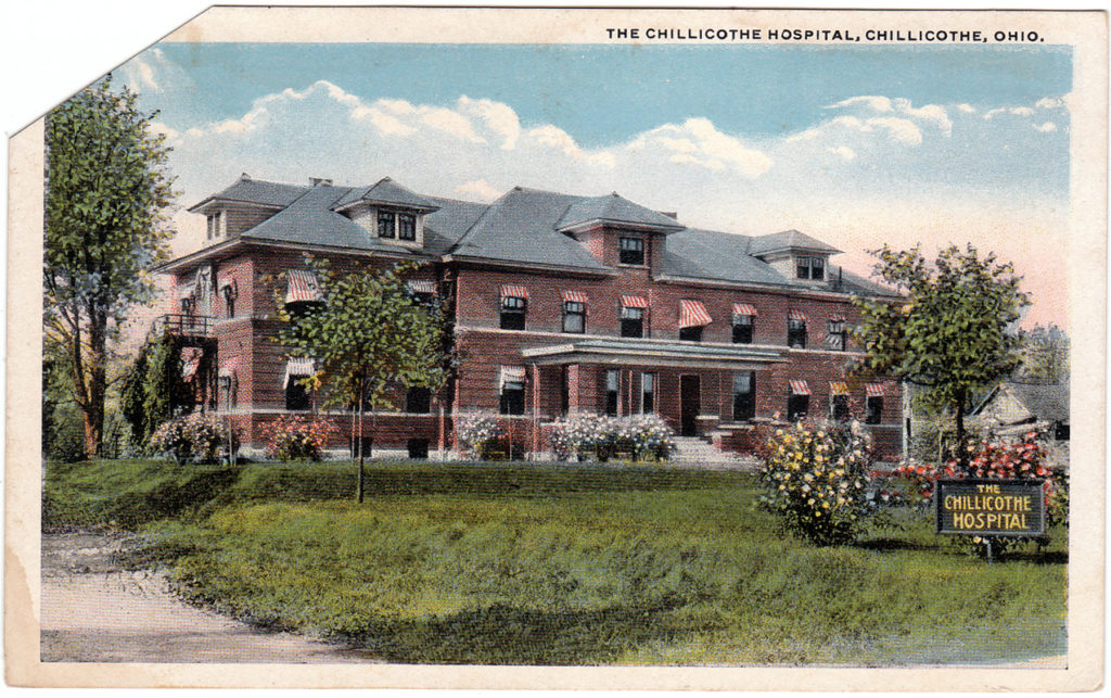 The Chillicothe Hospital, Chillicothe, Ohio (Date Unknown)